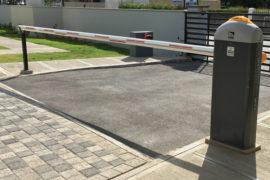 JN Barrier Gate Installation